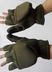 Outdoor Neoprene Gloves for Fishing (HX-G0019) pictures & photos