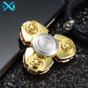 HS118 Luxury Gold Fidget Spinner Fashion Design Finger Spinner for Release Stress. pictures & photos