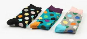 Happy Socks Unisex Cotton Dots Fashion Long Socks pictures & photos