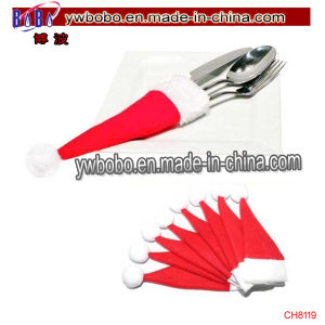 Christmas Hat Cap Silverware Holder Pocket Bag Party Decor (CH8119) pictures & photos