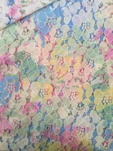 Heavy Cord Digital Printed Lace Fabric for Summer Dress pictures & photos