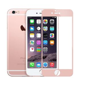 9h 2.5D Full Coverage Silk Printing Tempered Glass for iPhone 6 Plus (5.5 inch) (0.4mm)