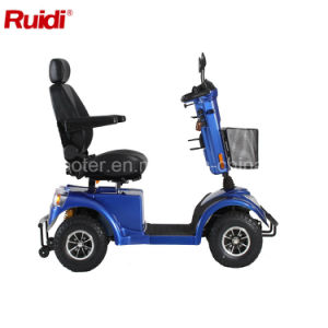Hot Sale Electric Scooter for Old People Full Suspension Mobility Scooter pictures & photos