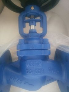 GS-C25 Flange End Bellow Seal Globe Valve pictures & photos