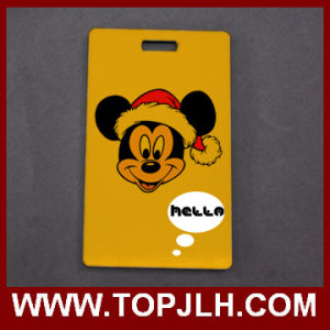 Sublimation MDF Wooden Luggage Tag pictures & photos