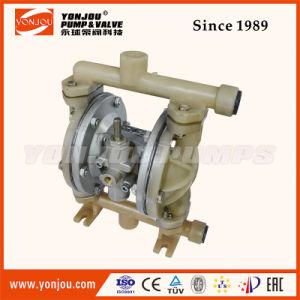 Qby Pneumatic Diaphragm Pump PP Lined Wite Teflon Diaphram pictures & photos