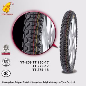 High Rubber Parts Inner Tube Content Motorcycle Tire for Sale Yt209b 300-17 300-18 275-18 pictures & photos