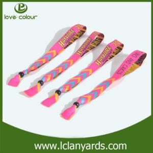 Wedding Gift Polyester/Nylon Printed Jacquard UHF RFID Identification Wristbands pictures & photos