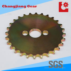 Transmission Zinc Plating Plate Sprocket Wheel pictures & photos