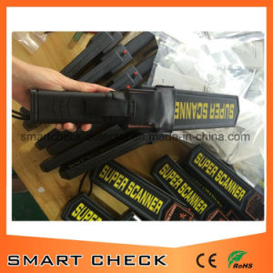 Handhold Metal Detector Super Scanner Metal Detector Handle Metal Detector pictures & photos