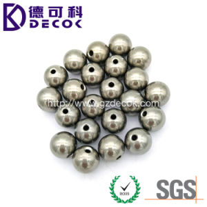 16mm Diameter Carbon Steel 6mm Hole Metal Bead pictures & photos