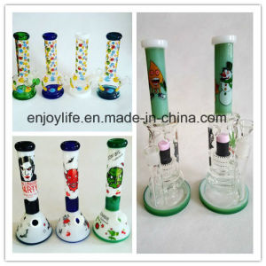 Cartoon Pattern fashion Glass Water Pipe and Glass Beaker pictures & photos