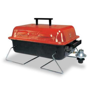 BBQ Grill with Steel Burner Plate and Bakelite Handle (SH GG-004) pictures & photos