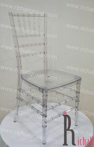 Resin Wedding Chair (RCR-007)