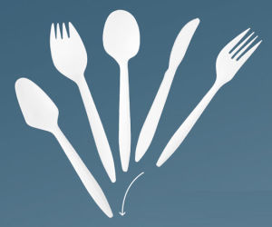 Plastic Cutlery Fork Knife Spoon pictures & photos