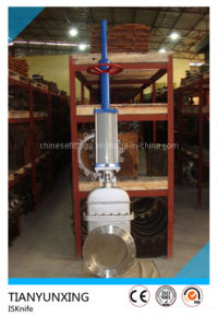 Is Inside Screw Flange/ Flanged Knife Gate Valve pictures & photos