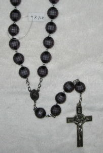 Big Beads Rosary Necklace (K724-K729)