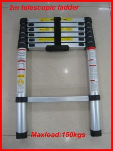 2.0m Telescopic Ladder With New Design pictures & photos