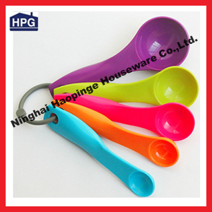Plastic Measuring Serving Spoons/Colourworks 5-Piece Measuring Spoon Set