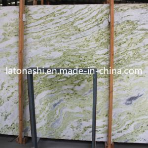 Polished Natural Green Jade Marble for Floor Tile, Slab, Countertop pictures & photos