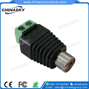 CCTV Female RCA Connector with Screw Terminals (RC101) pictures & photos