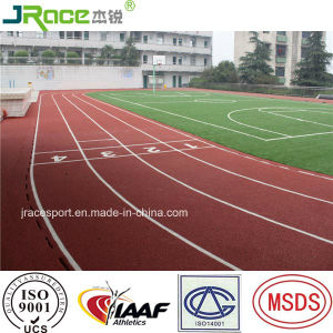 High Quality Full PU Type Running Track Flooring pictures & photos
