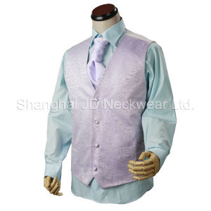 Silk Woven Waistcoat / Vest With Wedding Tie pictures & photos