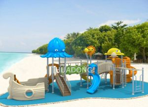 Cheap Colorful Children Commercial Outdoor Playground Equipment (HD-097A) pictures & photos