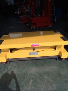 1t Stationary Fixed Small Scissor Lift Table pictures & photos