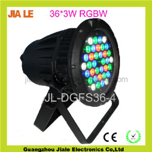 36*3W RGBW LED Waterproof PAR/Outdoor Stage Light