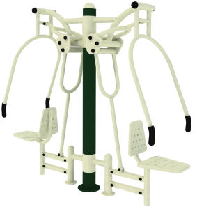 Professional Manufacturer of Outdoor Fitness Equipment Chest Press pictures & photos