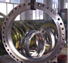 ASME B16.47 Series B Large Diameter Weldneck Flange pictures & photos