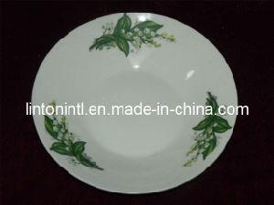 Ceramic Soup Plate/Porecelain