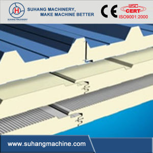High Efficiency PU Discontinuous Sandwich Panel Machine pictures & photos