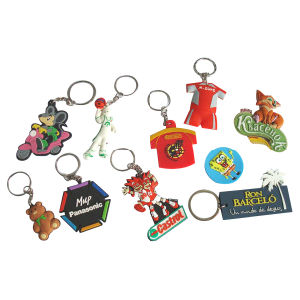 Cheap Custom Promotional Soft PVC Keychain pictures & photos