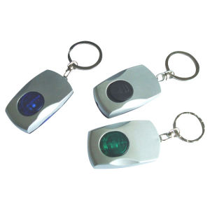 China Wholesale Mini Promotion Gift LED Keychain Light pictures & photos