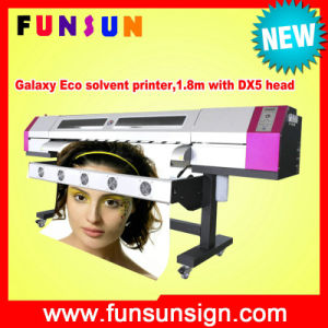Galaxy 1.6m/1.8m/2.1m Inkjet Printer Eco Solvent Printer with One or Two Original Dx5 Head pictures & photos