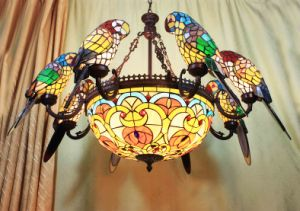 Art Tiffany Big Ceiling Lamp 2 pictures & photos