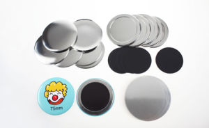 Diameter 75mm Rubber Magnet Button pictures & photos