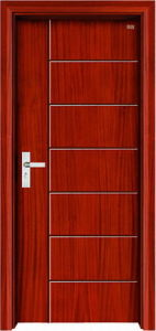 New Design and High Quality Interior Wooden Door (LTS-107) pictures & photos