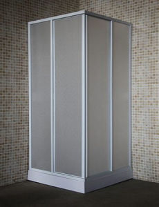 Bathroom Square Simple Tempered Glass Shower Enclosure 90 pictures & photos