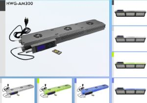 Intelligent Programmable Control Marine 300W LED Aquarium Lights Lighting