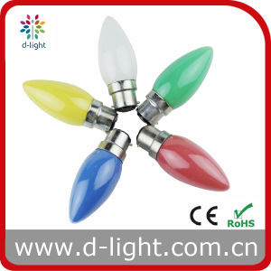 in-Painted Color C35 Decorative Candle Bulb