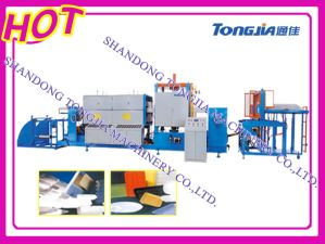 PS Fastfood Foaming Caontainer Extrusion Extruder and Vacuum Forming Machine pictures & photos