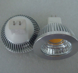 Dimmable LED Spotlight COB 5W 600lm GU10/MR16/JDR pictures & photos