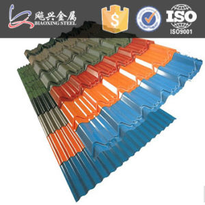 ISO9001 Color Good Painted Construction Material Roofing Steel Tile pictures & photos