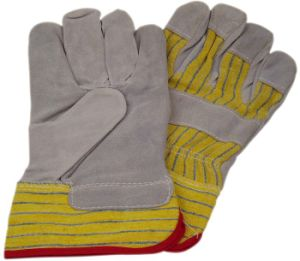 Working Leather Gloves with CE Approval (SQ-001) pictures & photos
