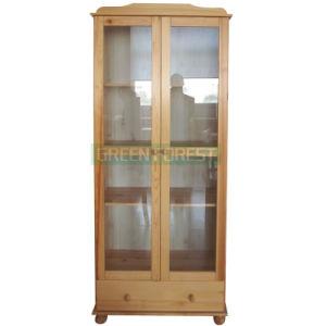 Solid Wood Dresser with 2 Door 1 Drawers Furniture (GF-L021)