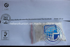 4-Chlorodehydromethyltestosterone (Turinabol) CAS 2446-23-3 Steroid Powder for Muscle Enhancer pictures & photos