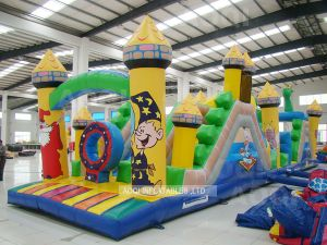 Inflatable Obstacles in Inflatable Castle (AQ152) pictures & photos